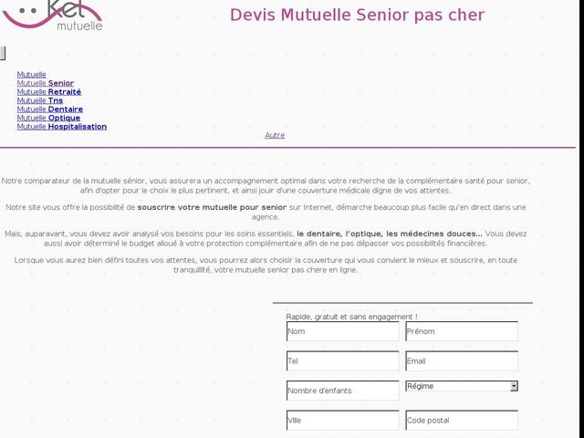 534e95109f9b80 Mutuelle Senior Pas Chère