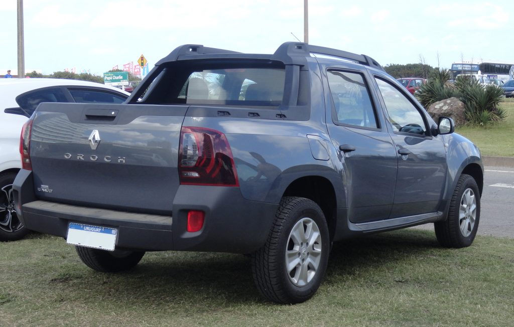 duster pick up france