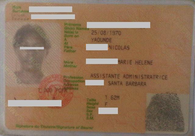 carte d identité