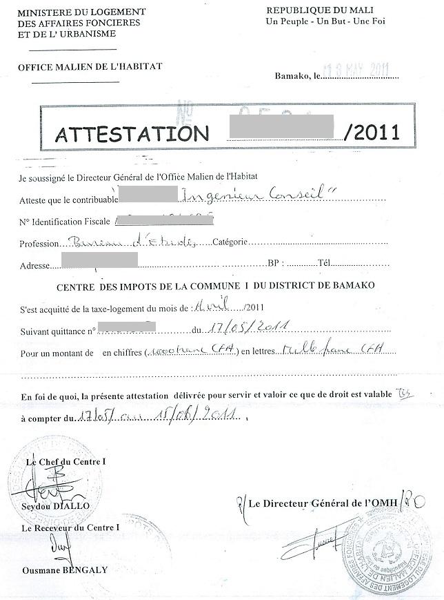 certificat de cession imprimer france