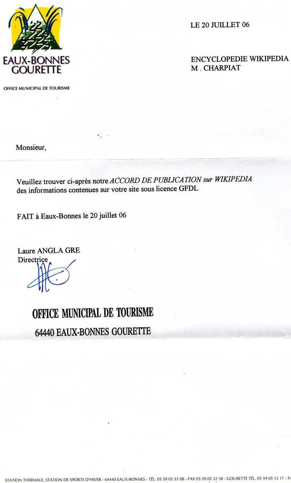 lettre de procuration