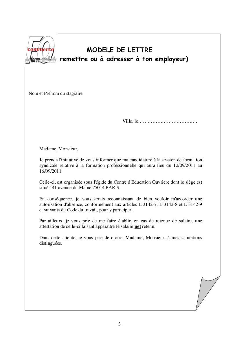 lettre de rupture de contrat