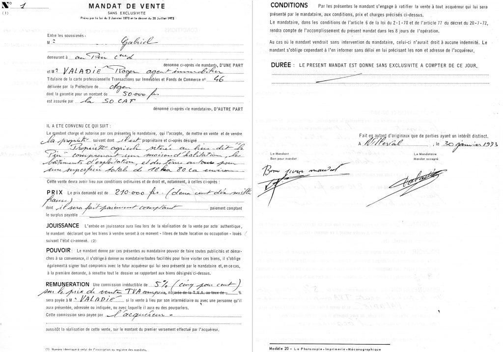 document pour vendre une voiture