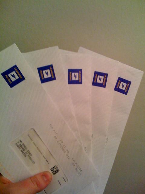 messagerie de la banque postale