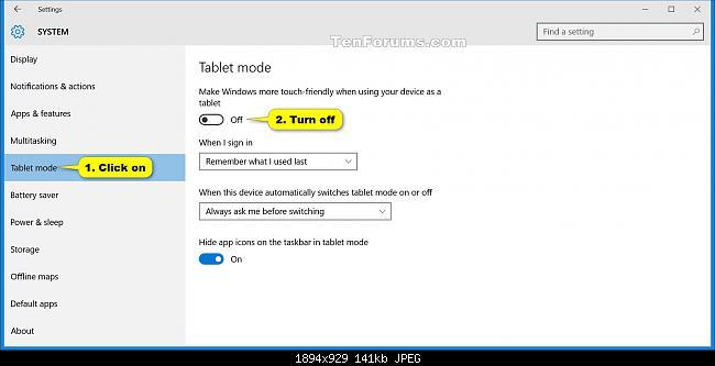 enable test mode windows 10
